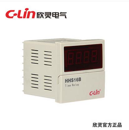 欣灵HHS16B 数显时间继电器 AC220V