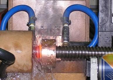 牙条调质淬火机-丝杠调质生产线