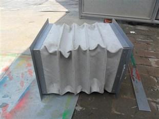 非金属膨胀节 硅胶布软连接 非金属圈带产品