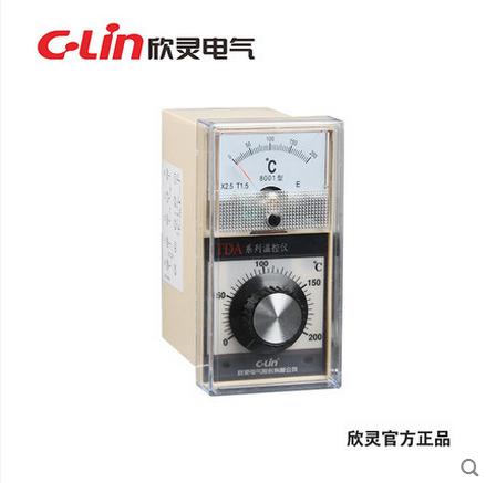 欣灵TDA-8001温度指示控制仪温控器分度号E控温范围0-400℃AC220V
