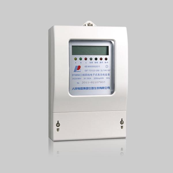 DSS858/DTS858型 三相电子式有功电能表(液晶)系列