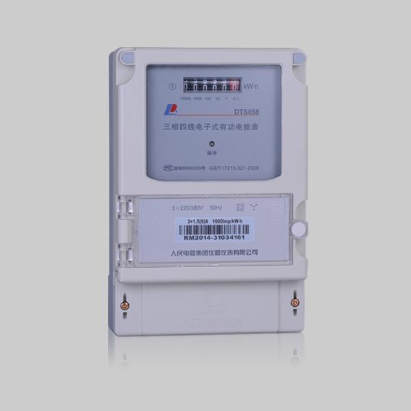 DSS858/DTS858型 三相电子式有功电能表系列