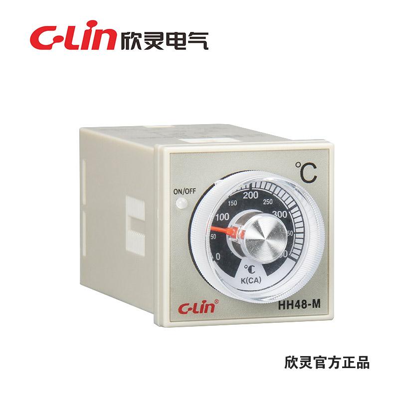 欣灵HH48-M (E5C2) K 400℃ 无指示温度控制仪温控器温度器