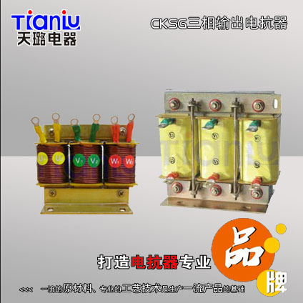 CKSG三相输出电抗器0577-27870795