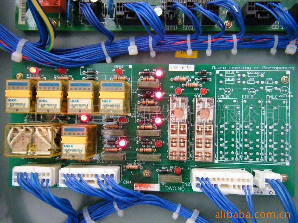 5匹美的空调内机主板电路图纸