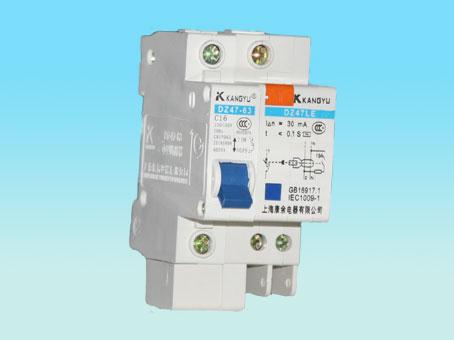 漏电保护器dz47l/1p