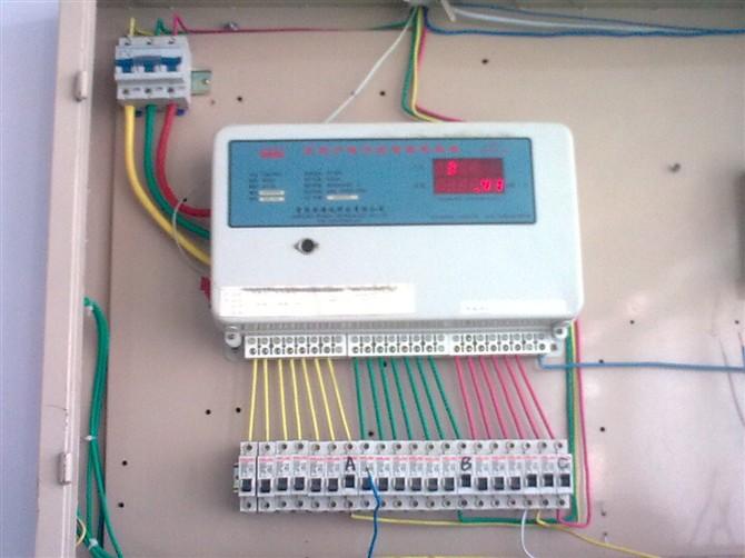青岛电表100a三相四线接线图
