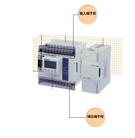 三菱fx3u-128mr端子接线图