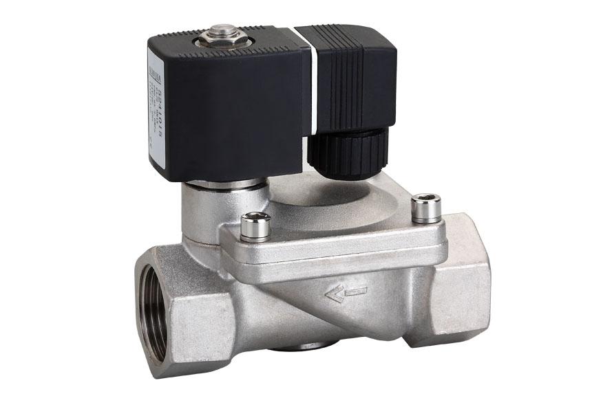 电磁阀 先导膜片式电磁阀  阀体材质:黄铜或不锈钢 控制方式:常闭