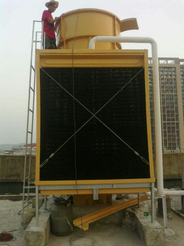 江西九江400t方型冷却塔